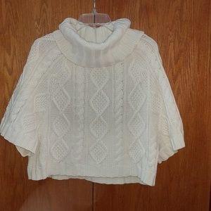 Gap poncho type sweater